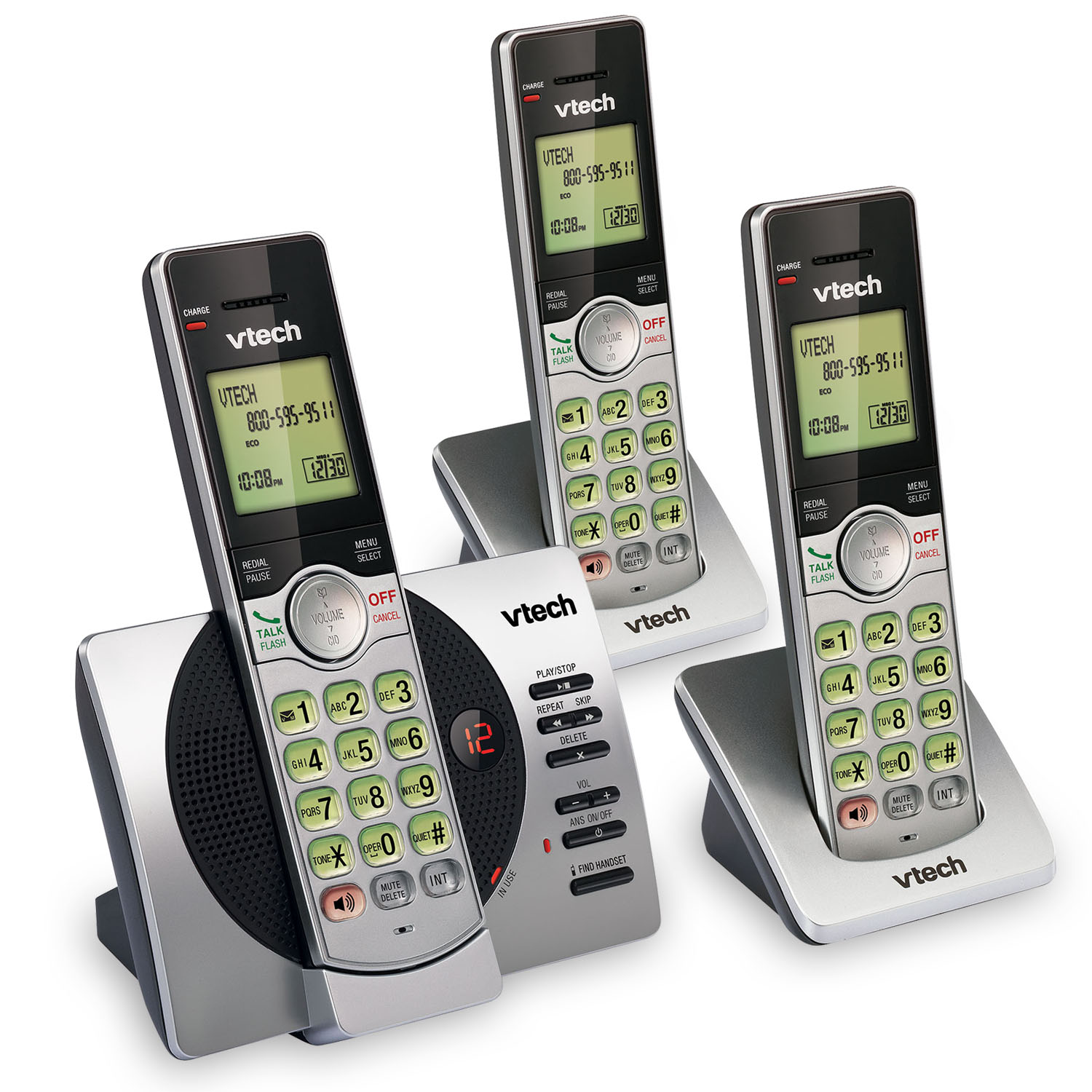 cs6929 3 vtech cordless phones. Black Bedroom Furniture Sets. Home Design Ideas