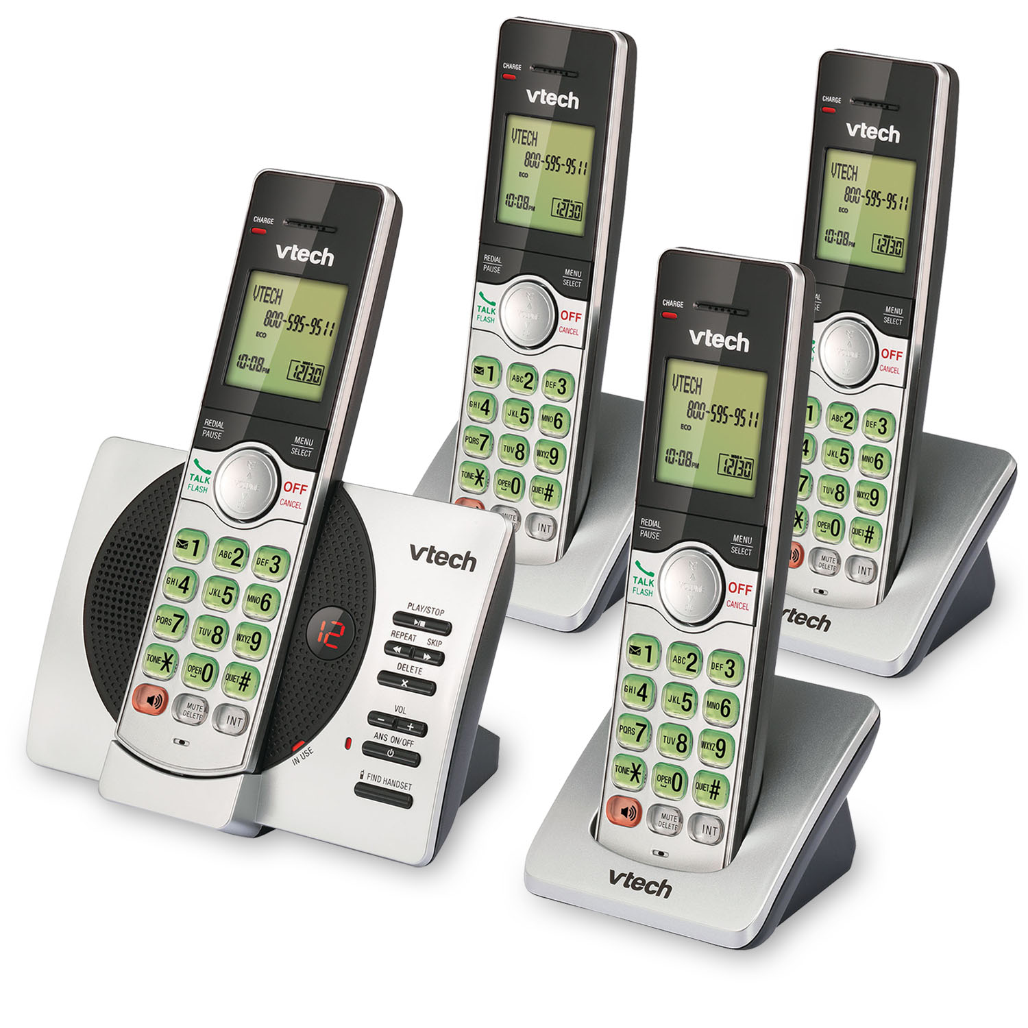 cs6929 4 vtech cordless phones. Black Bedroom Furniture Sets. Home Design Ideas