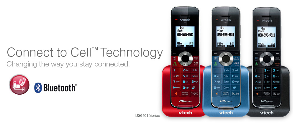 Vtech connect to cell phone systems vtech cordless phones connect to cell technology sciox Images