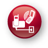 MAKE AND RECEIVE LANDLINE AND CELLULAR CALLS