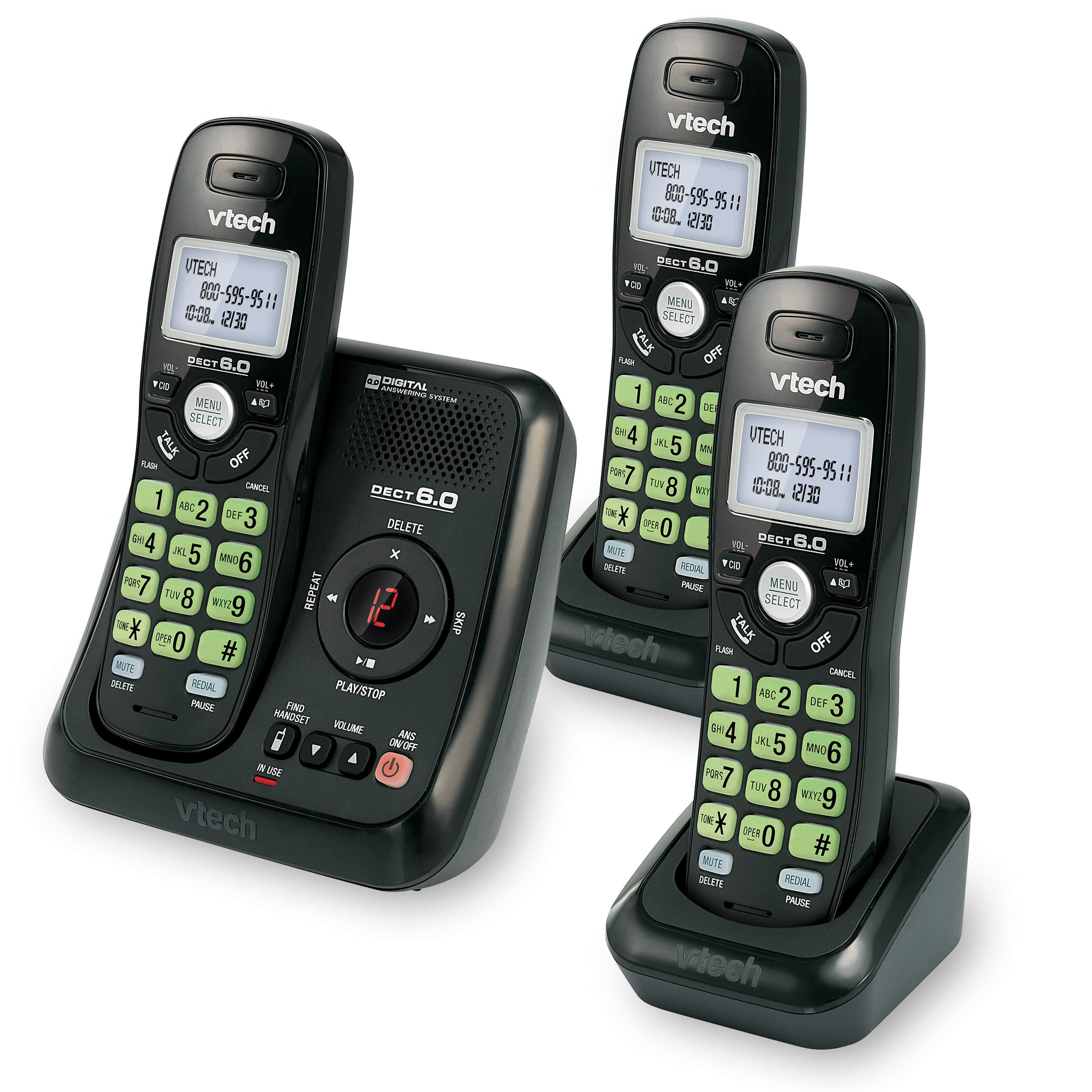 Fonedeco Answering System With Caller Id Call Waiting Manual Guide