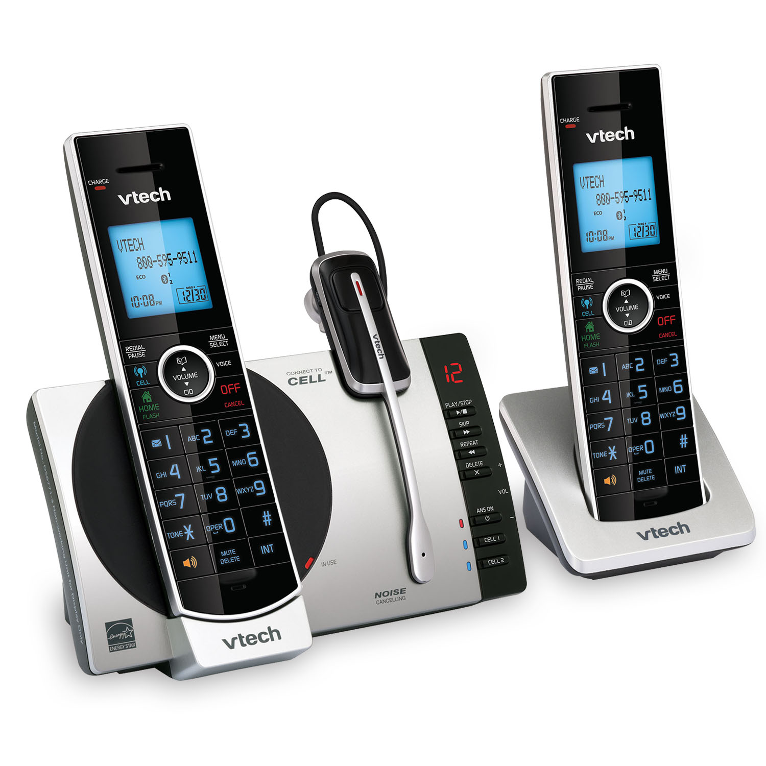 ds6771 3 vtech cordless phones. Black Bedroom Furniture Sets. Home Design Ideas